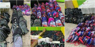 NDP-Saramacca verdeelt 2000 schoolpakketten