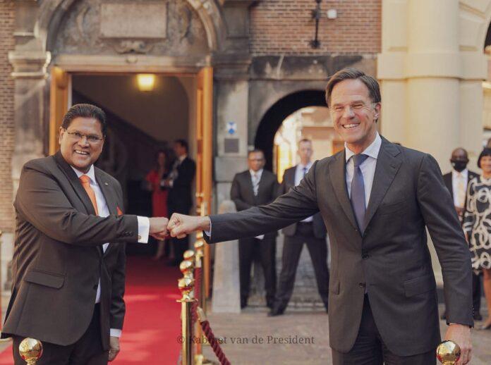 President Santokhi: 'Relatie Suriname - Nederland volledig hersteld'