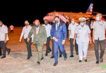 President Santokhi en delegatie terug in Suriname
