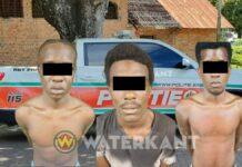 RBTP arresteert drietal voor barbaarse beroving vrouw Grote Combeweg