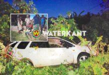 Bestuurder zonder rijbewijs zwaargewond nadat hij van de weg raakt