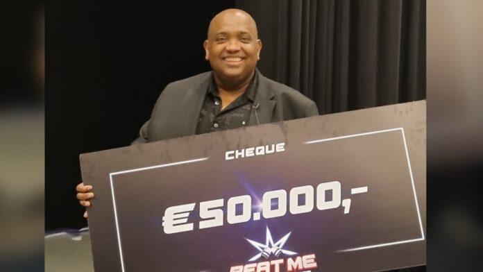 50.000 euro in het SBS6 programma'Beat Me: The Five Knock-Outs'