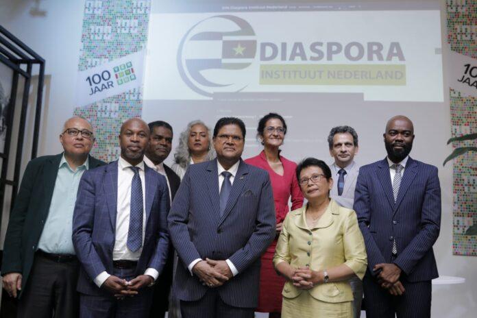 Diaspora Instituut Nederland (DIN) geproclameerd
