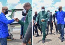 VIDEO: Guyanese vp Jagdeo aangekomen in Suriname