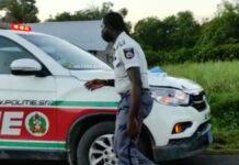 Surinaamse politie bij melding