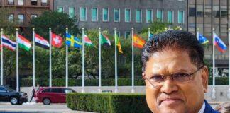 Delegatie president Santokhi een dag later in Suriname verwacht