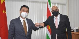 Suriname mag rekenen op ondersteuning van China bij ontwikkeling