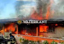 VIDEO: Woning volledig vernietigd door brand