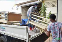 Ziekenhuizen ontvangen medische hulpgoederen