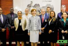 Delegatie Wereldbank op bezoek in Suriname
