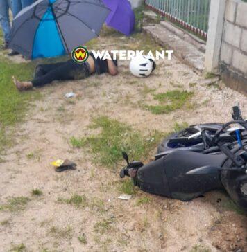 Motorfietser overleden bij verkeersongeval