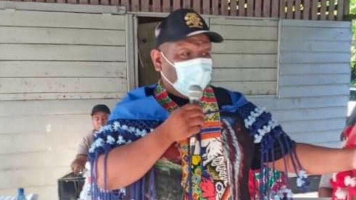 Sergio Sabajo aangewezen als dorpshoofd Powakka