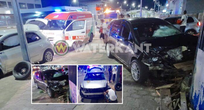 Zware aanrijding tijdens lockdown nadat automobilist geen voorrang verleent