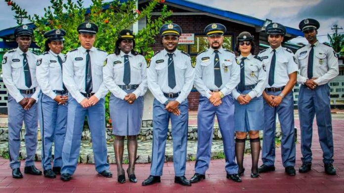 bestuur surinaamse politiebond 2021-2025