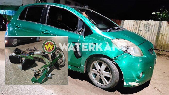 Bromfietser zwaargewond na aanrijding met auto die geen voorrang verleent