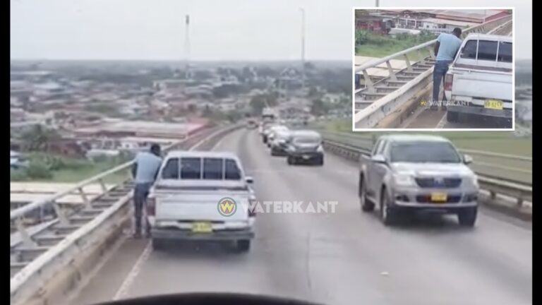 VIDEO: Man stopt op Bosjebrug om daar te plassen