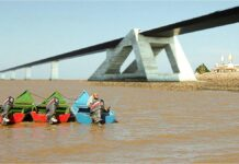 brug tussen Suriname en Guyana