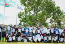 Certificaatuitreiking BNTF trainingen SAO Paramaribo