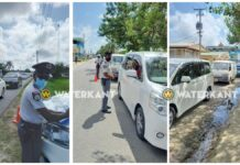 Algehele veiligheidscontroles in alle zeven ressorten Nickerie