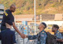 Marineofficieren nemen deel aan Caribbean Exercise met Nederland