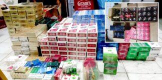 Partij illegale sigaretten en whiskey in beslag genomen in Nickerie