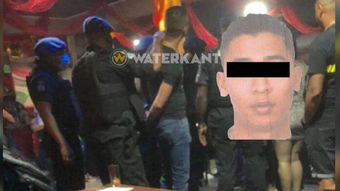 Voortvluchtige drugsverdachte Kenneth L. aangehouden in club