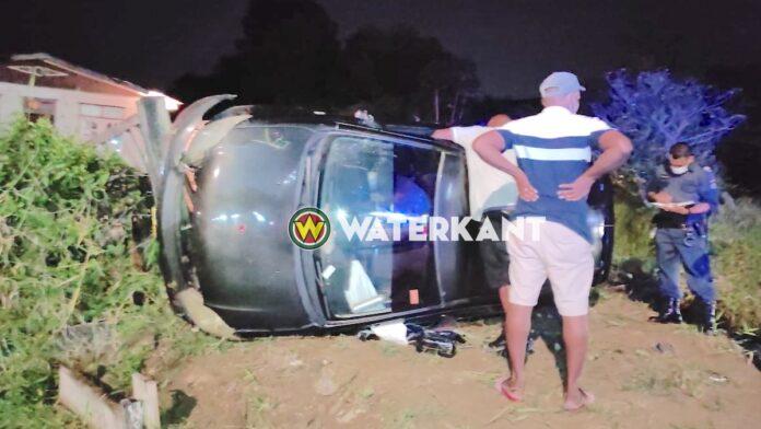 Automobilist belandt op z'n zij met voertuig bij achtervolgen doorrijder
