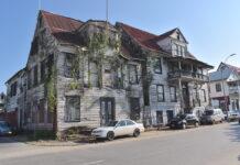Renovatie 3 monumentale panden historische binnenstad van Paramaribo