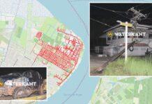 Deel Paramaribo-Noord nog steeds geen stroom nadat pick-up EBS mast ramde