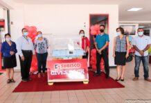 Subisco schenkt couveuse aan ziekenhuis in Nickerie