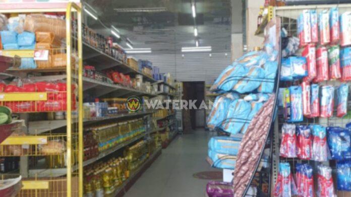Een supermarkt in Suriname