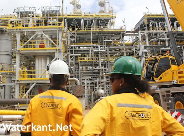 Raffinaderij Staatsolie Suriname op één miljoen
